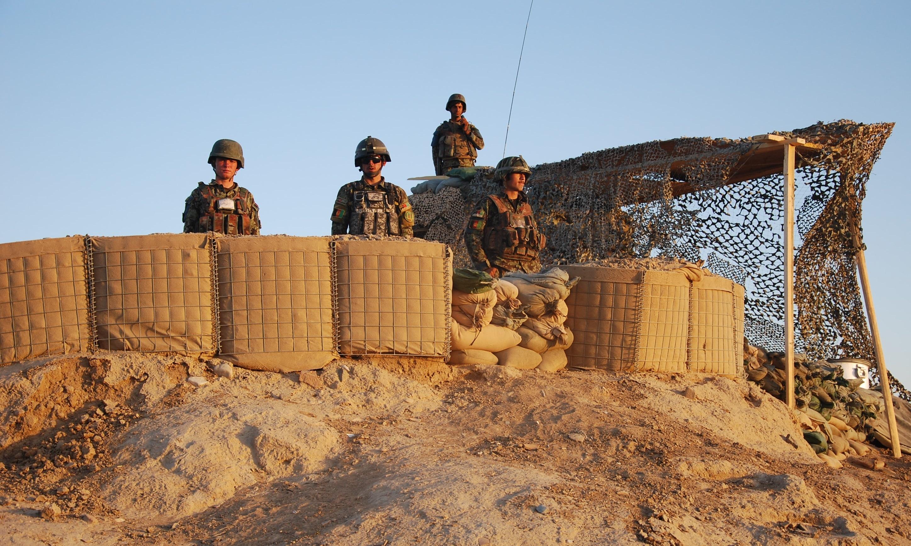 تصفیۀ ساحات بزرگی از افغانستان از وجود شبه نظامیان طی عملیات شفق