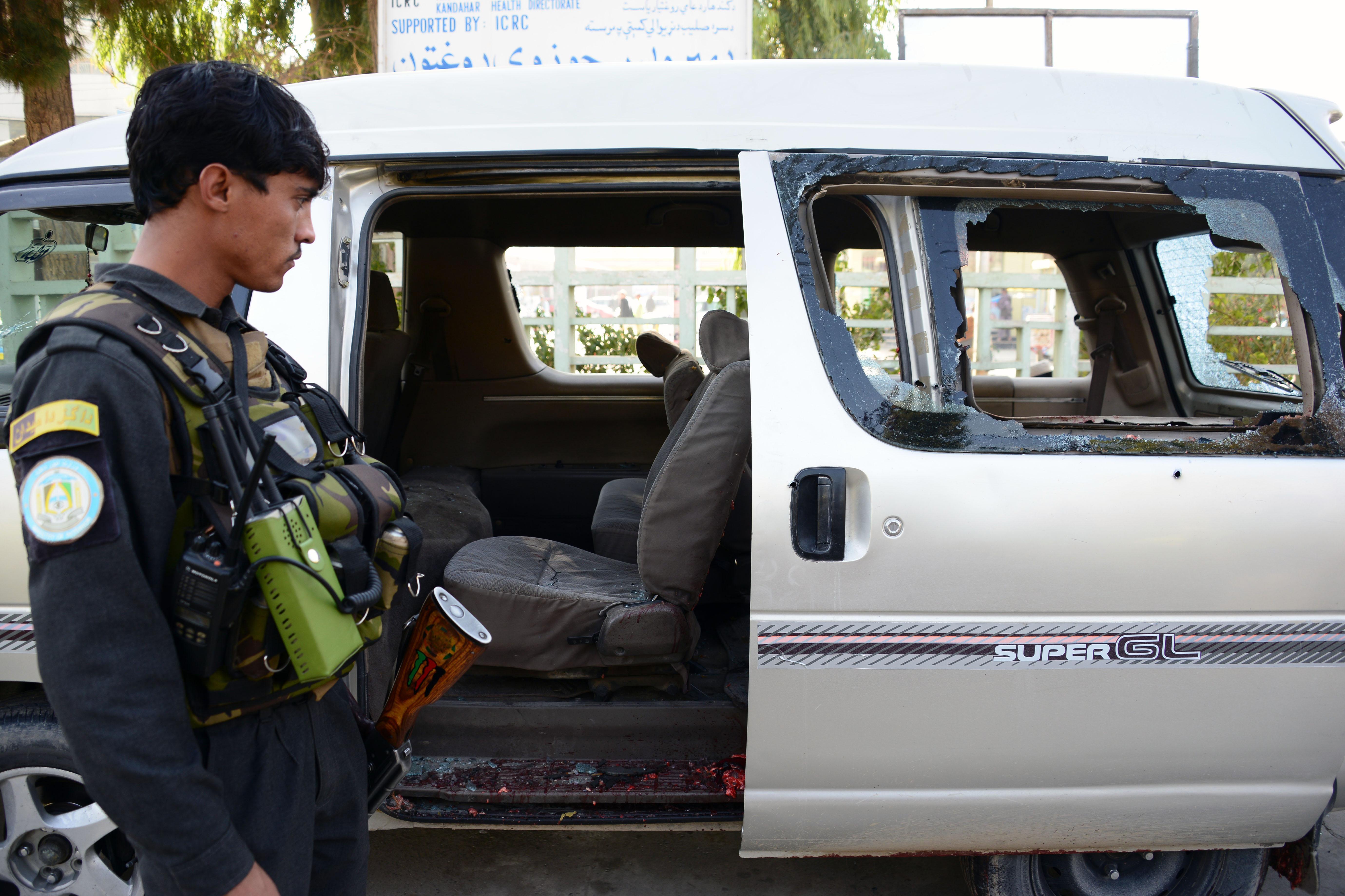 Afghans condemn fatal shooting of women in Kandahar
