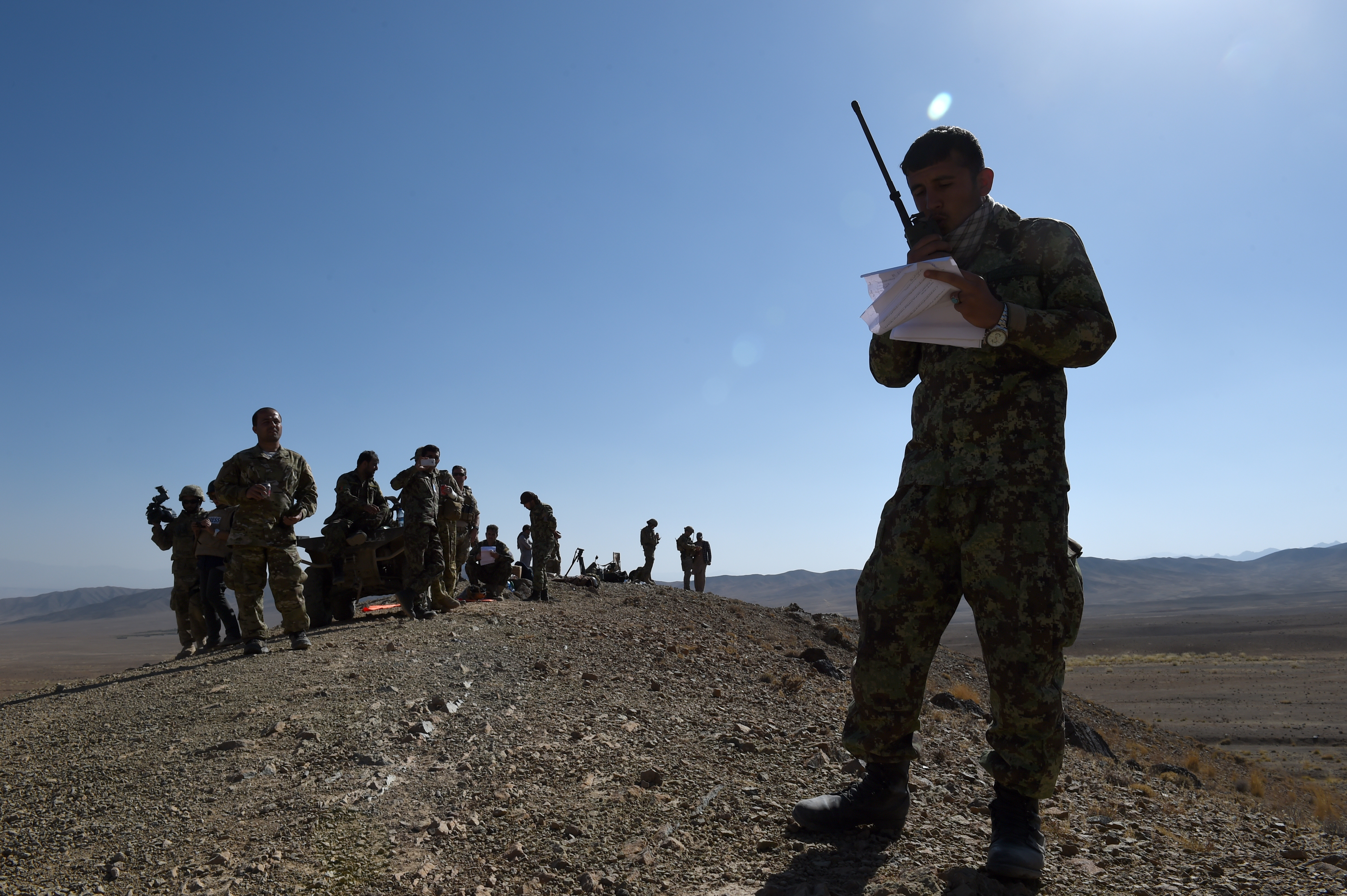 Afghan officials predict 'complete victory' over Taliban