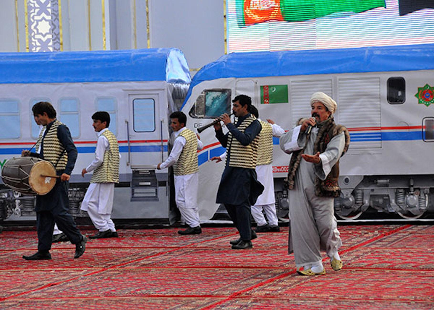 فرصت های بالقوه در عرصه تجارت ترکمنستان و افغانستان در خط آهن جدید
