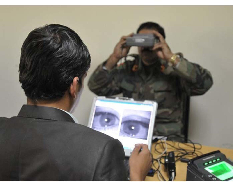 مسئولین می گویند سیستم بایومتریک افغانستان «کاملا ایمن» است