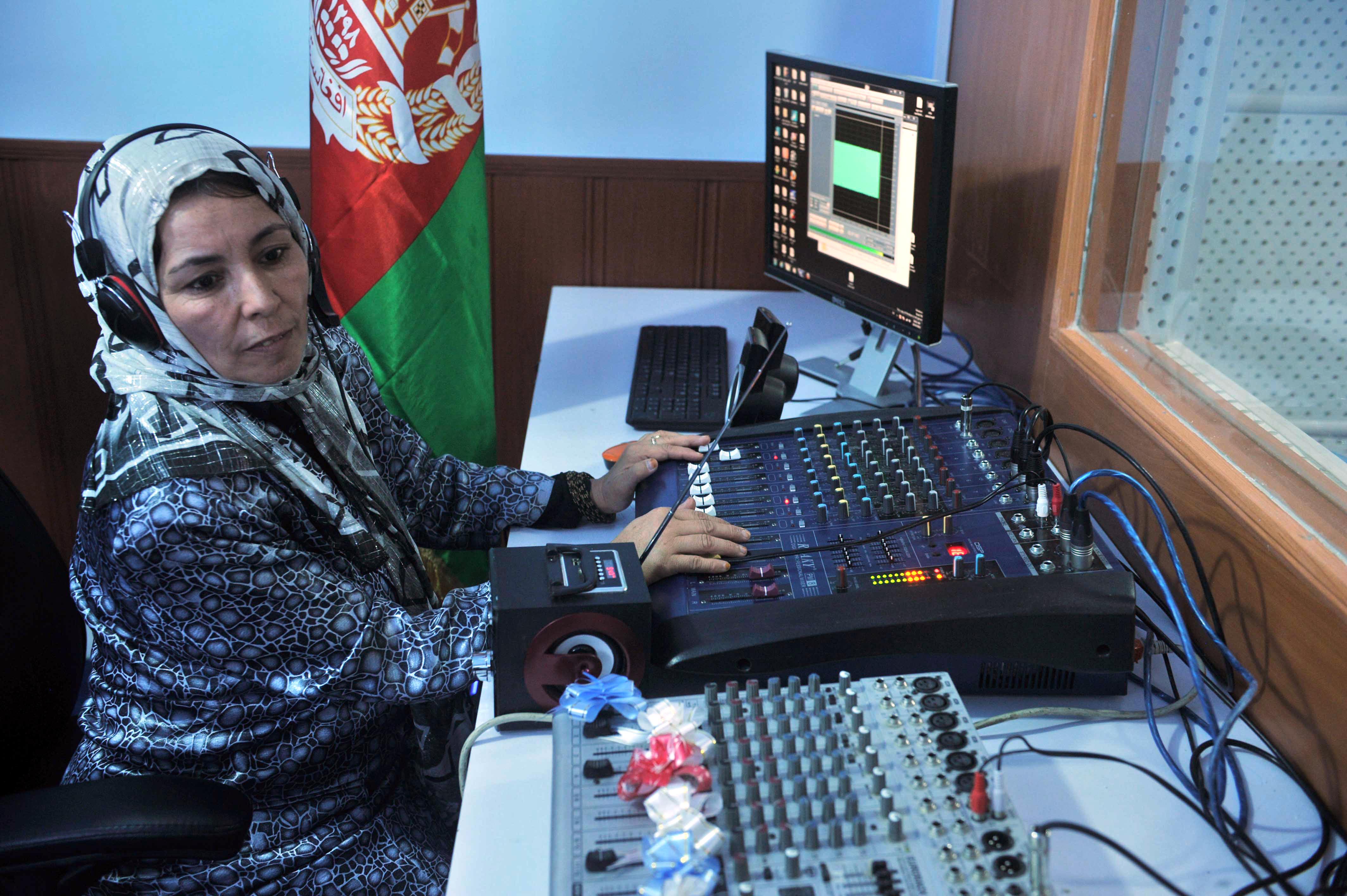 مراکز جدیدی با هدف محافظت از زنان ژورنالیست در افغانستان