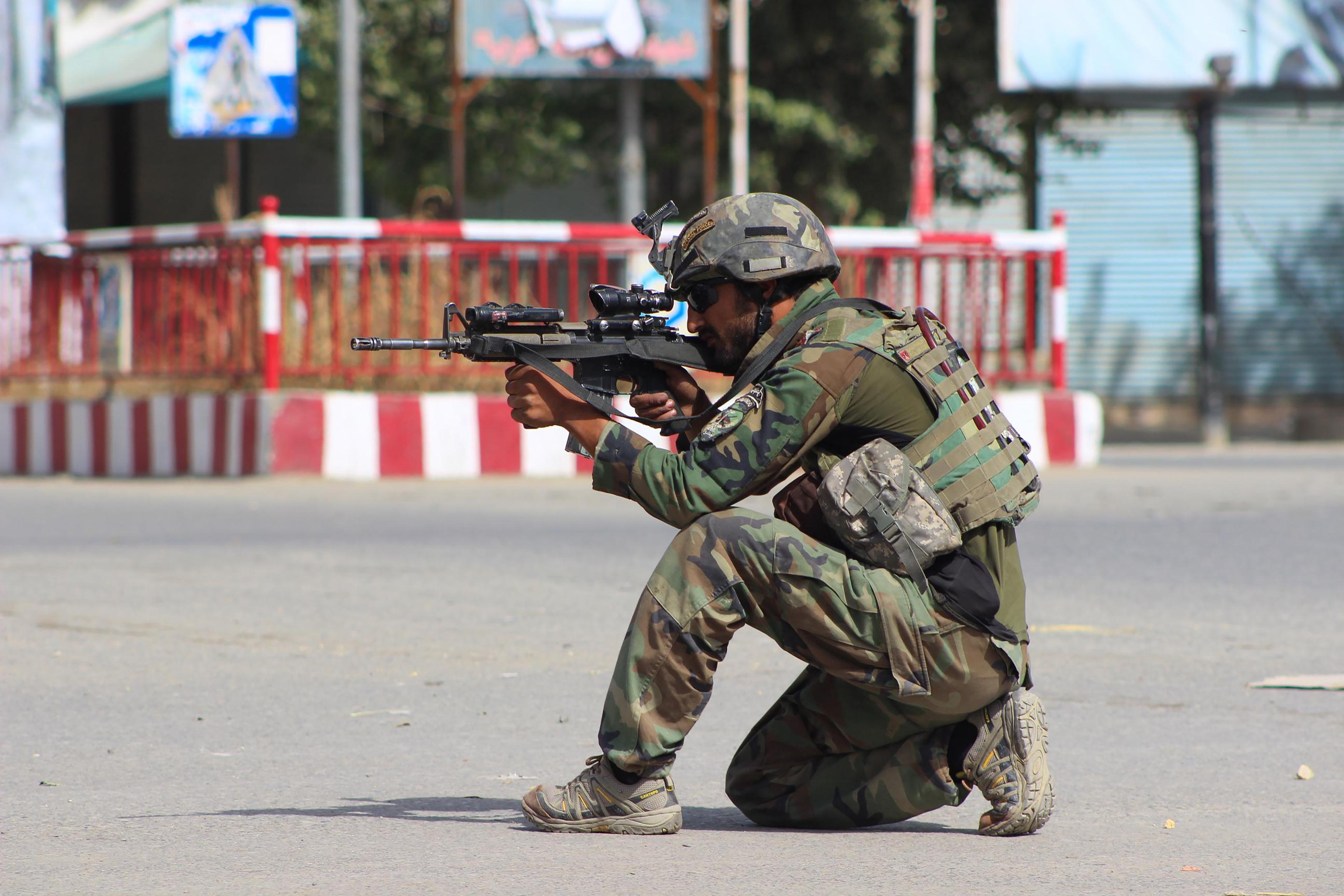 مقابله قوای افغان با تجمع جنگجویان خارجی در شمال