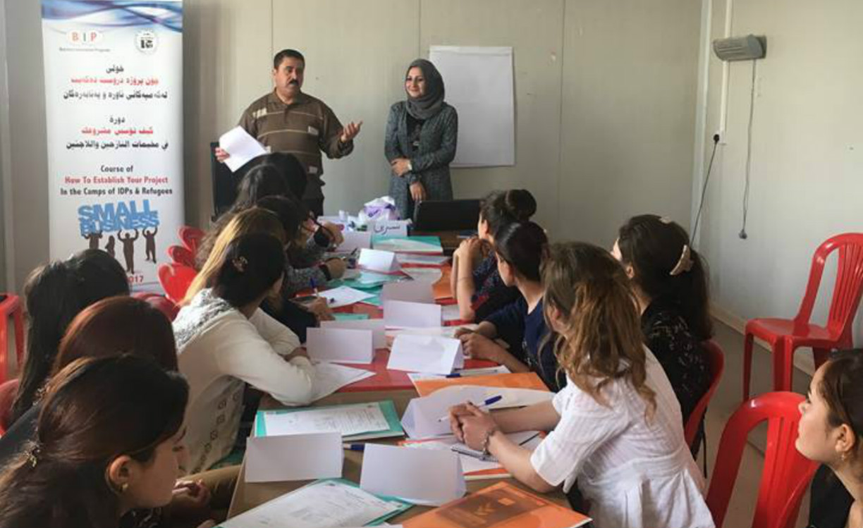 Iraqi women activists rebuild their country