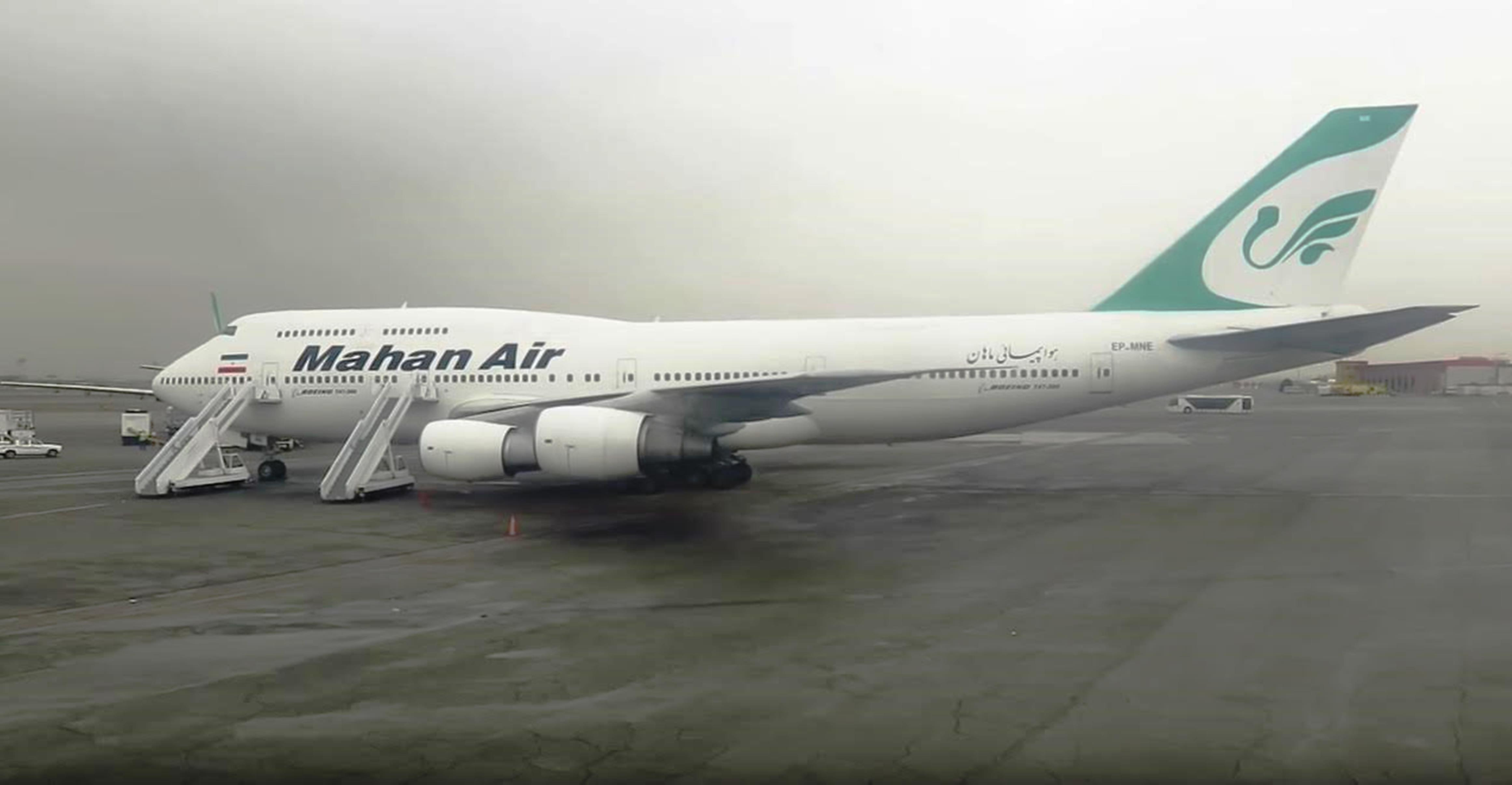 ماهان ایر: یک ایرلاین که درگیری های مورد حمایه ایران در خاورمیانه را پشتیبانی می کند