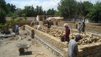 روستاییان افغان در زمینه انکشاف نقش حیاتی را ایفا می کنند