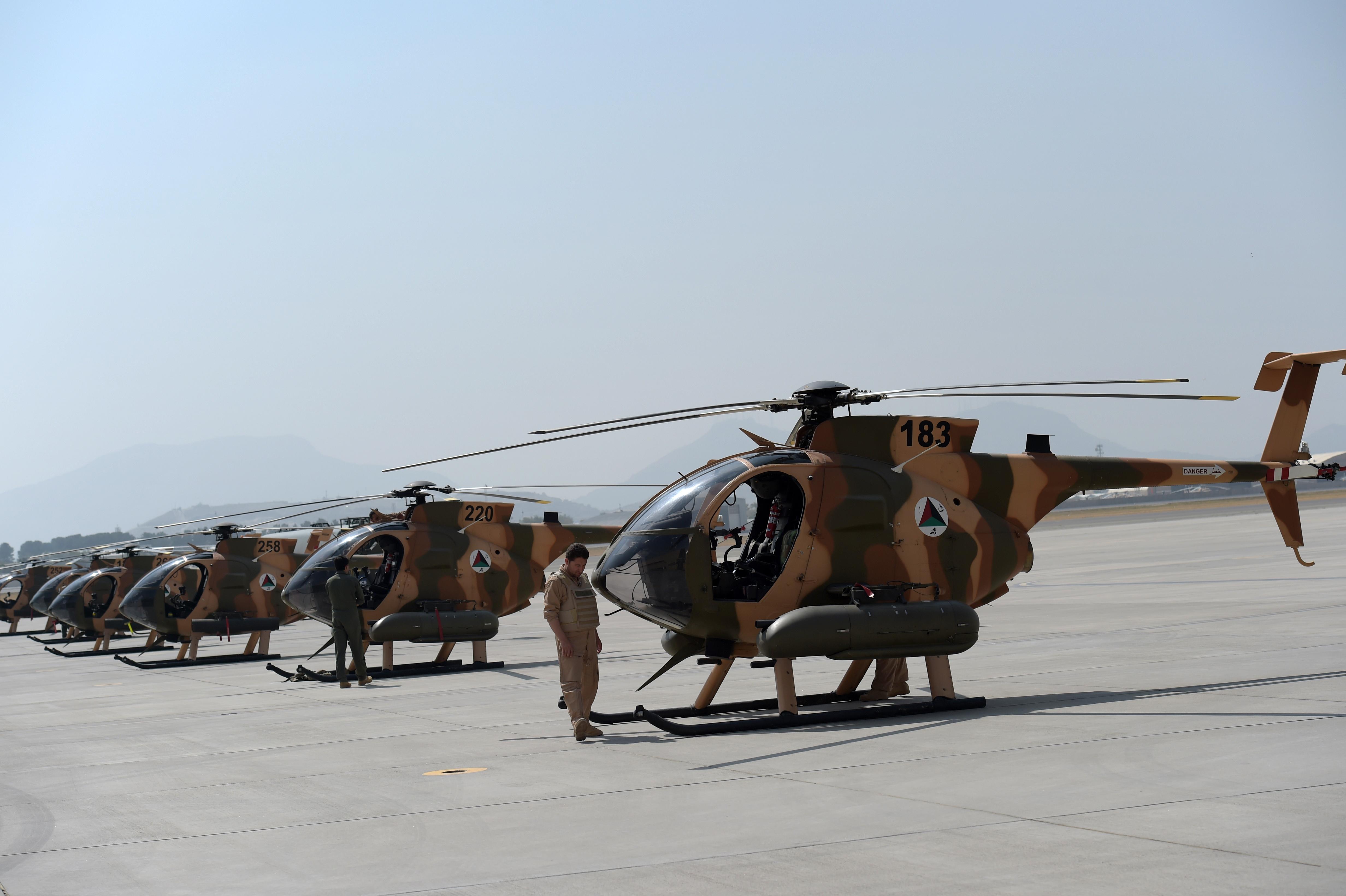 افغان هوایي ځواک اورپکو ته په ماتې ورکولو کې حیاتي رول لوبوي