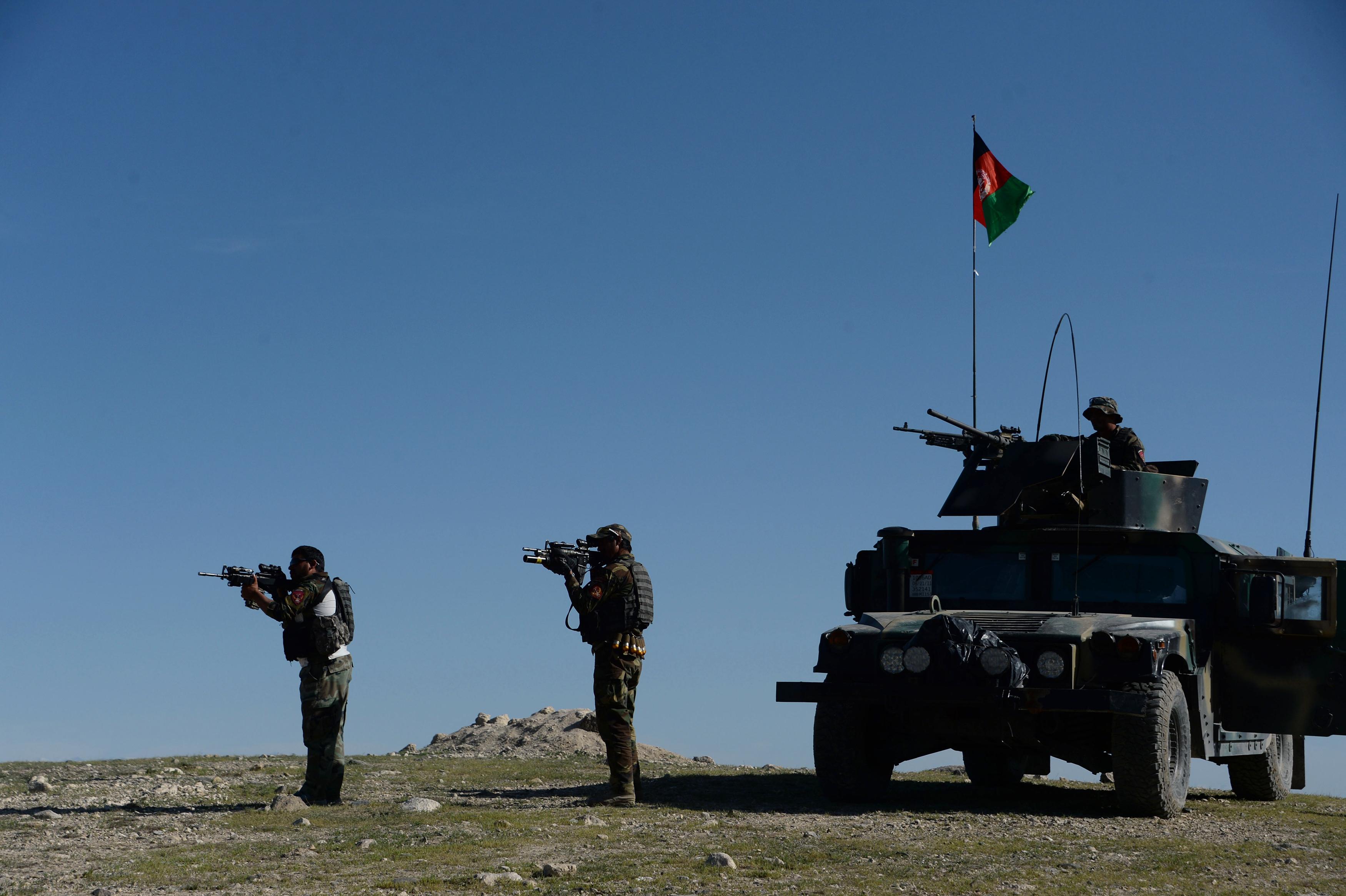 بعد از انفجار بمب ایالات متحده شمارش معکوس برای داعش در افغانستان و پاکستان شروع شده است