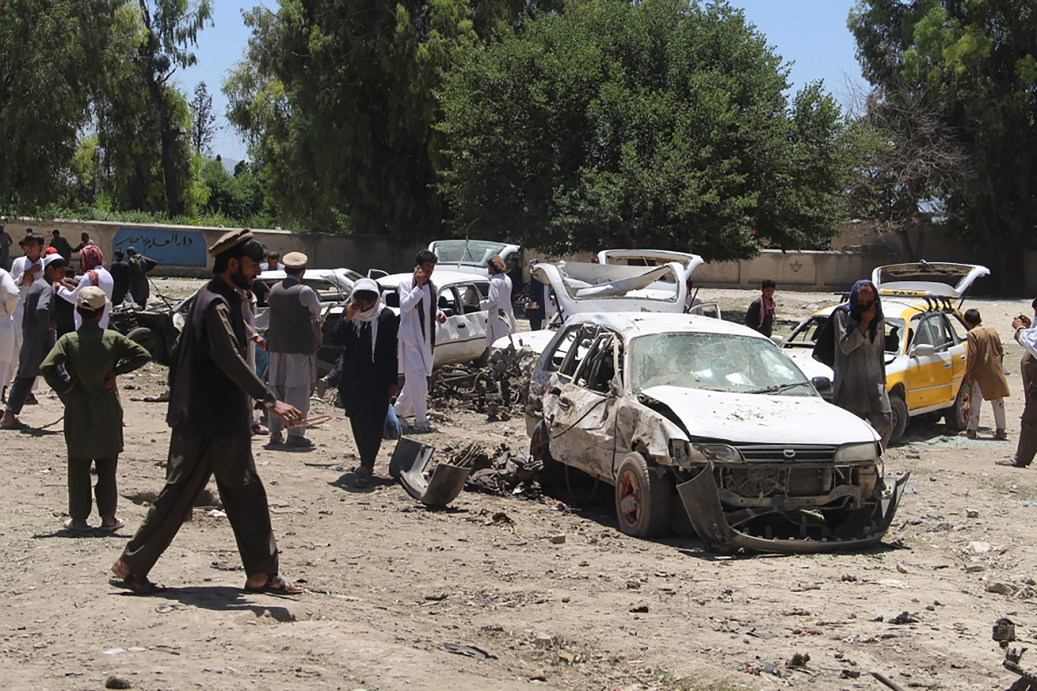 Taliban marks start of Ramadan with suicide car bombing in Khost