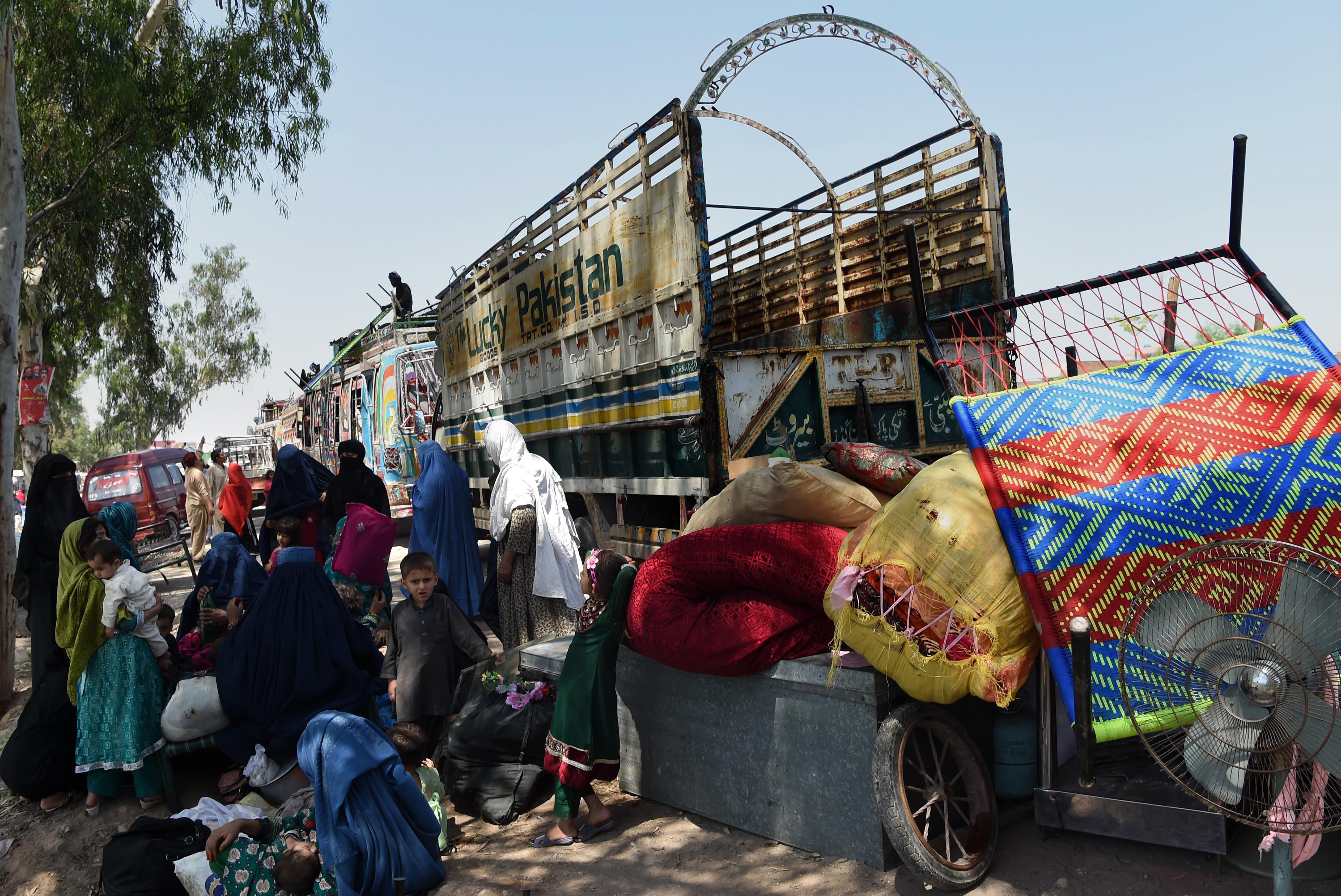Afghan repatriation from Pakistan slowing