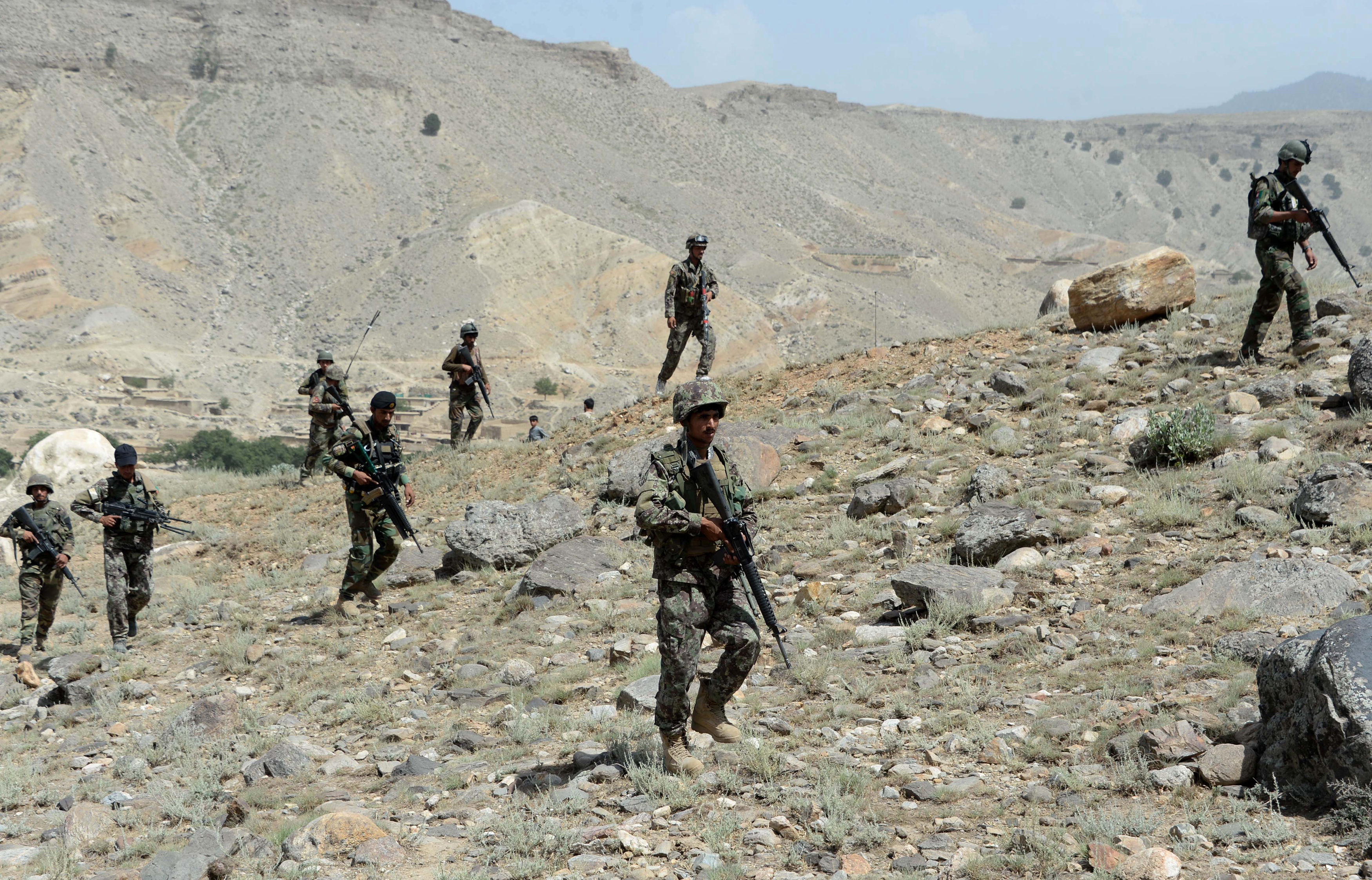 Afghan forces close in on ISIS-held caves in Tora Bora