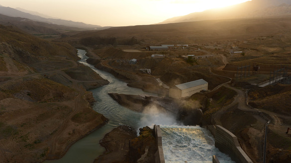 The Salma Hydroelectric Dam in Herat Province near the Iranian border is shown June 2, 2016. Afghanistan credits the dam for bringing prosperity, but Iran blames it for sand, dust and environmental degradation. [Aref Karimi/AFP]