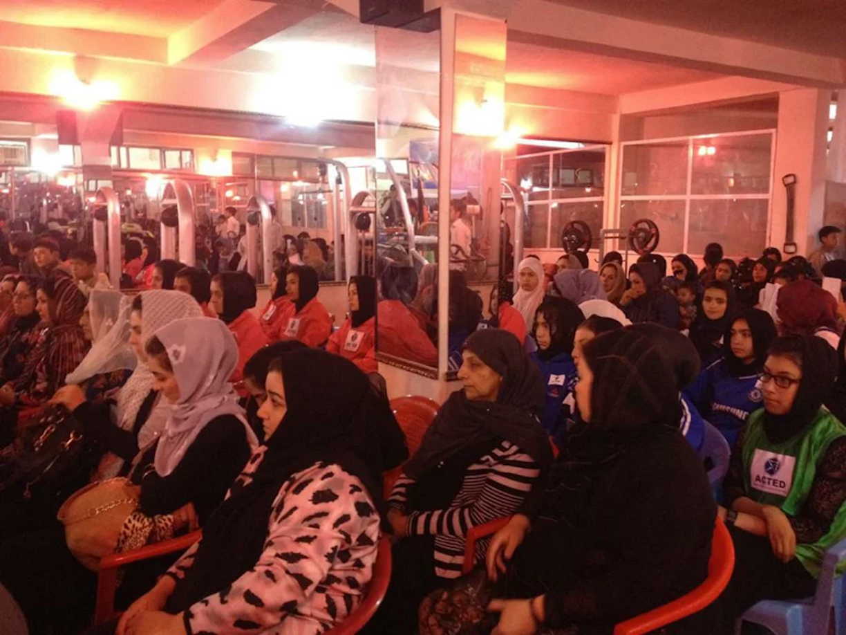 Faryab women get dedicated fitness centre