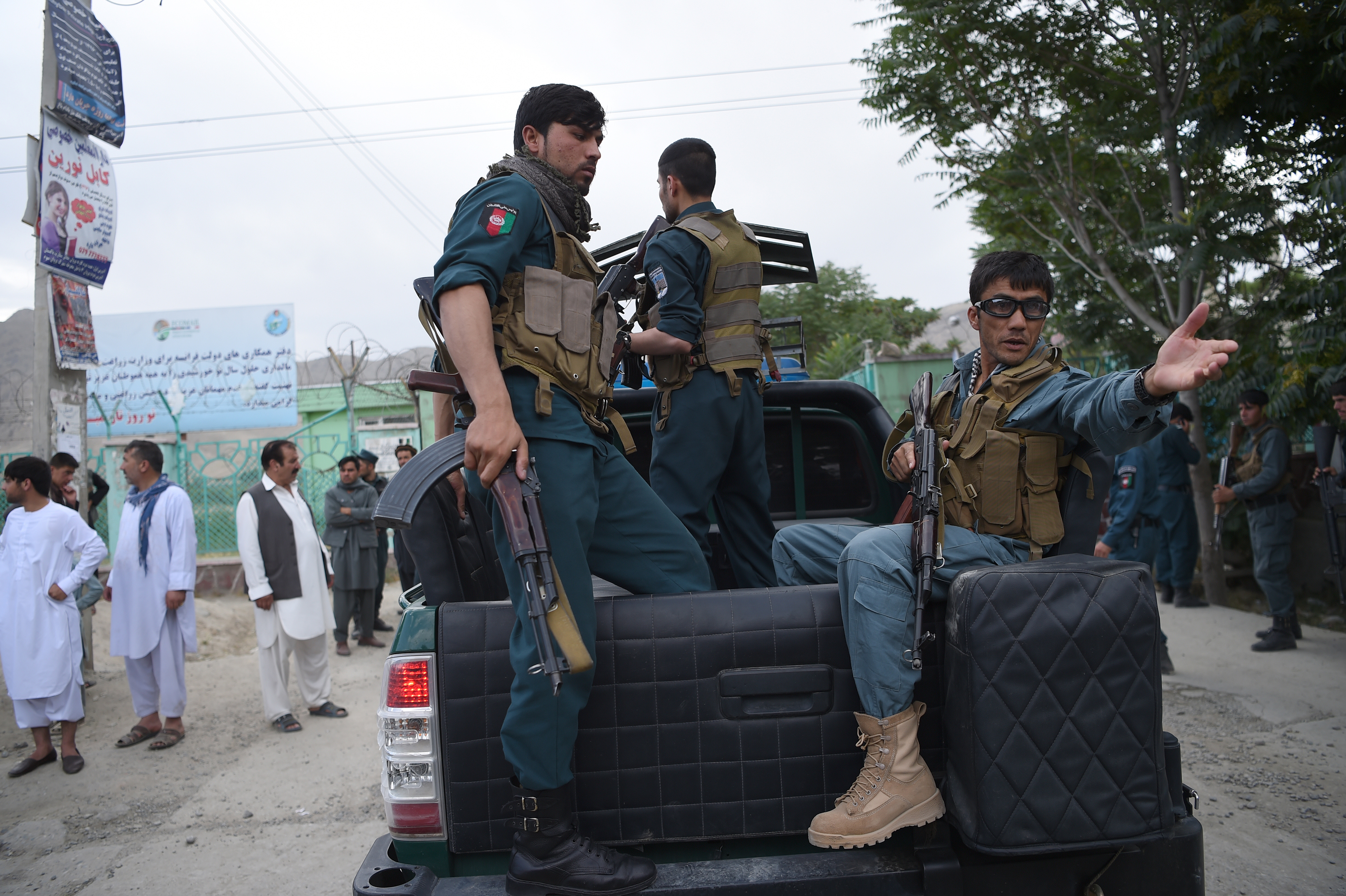 Afghans increasingly confident in 119 police hotline