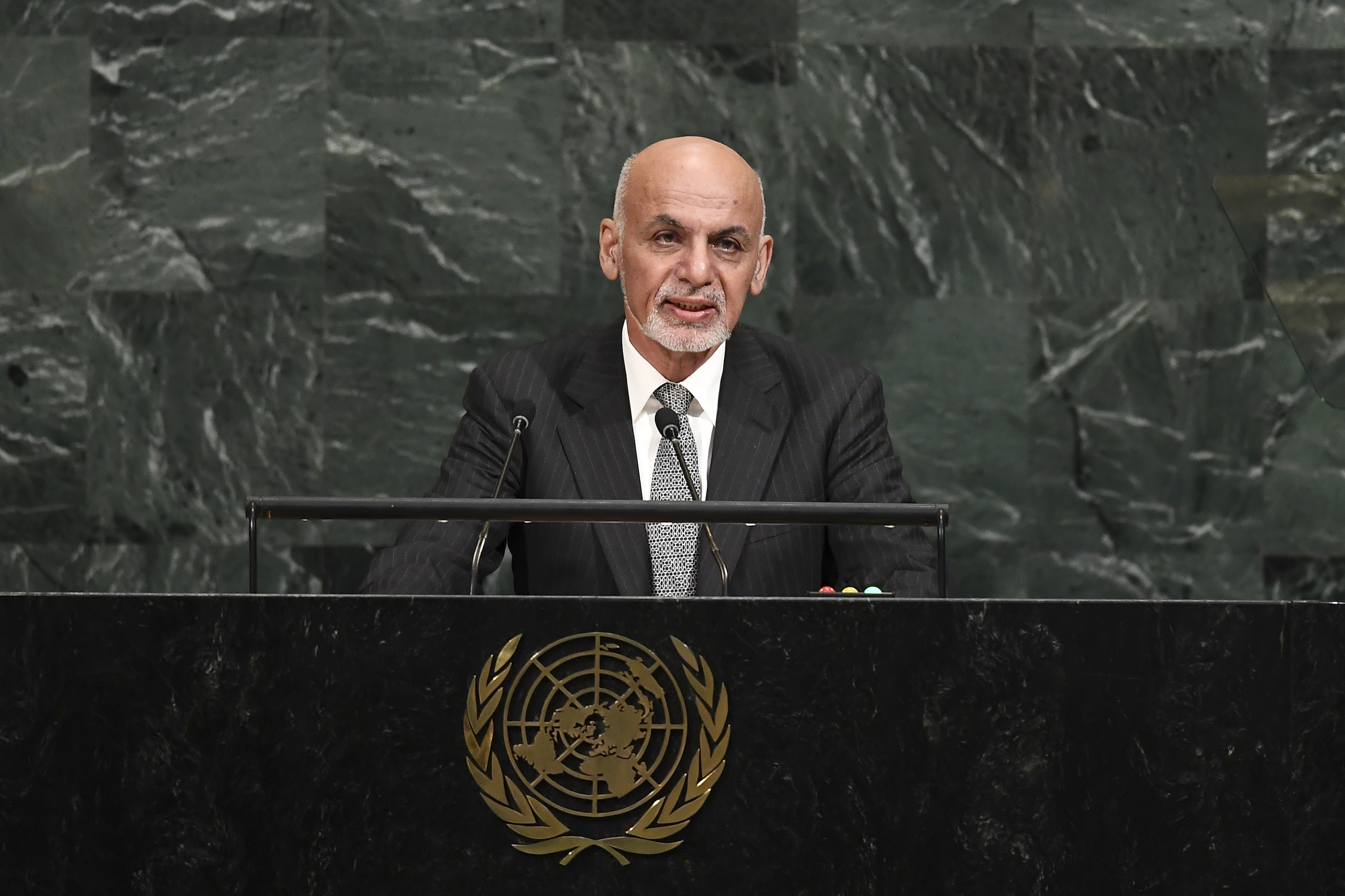 Ghani: regional co-operation, dialogue only way to fight extremism