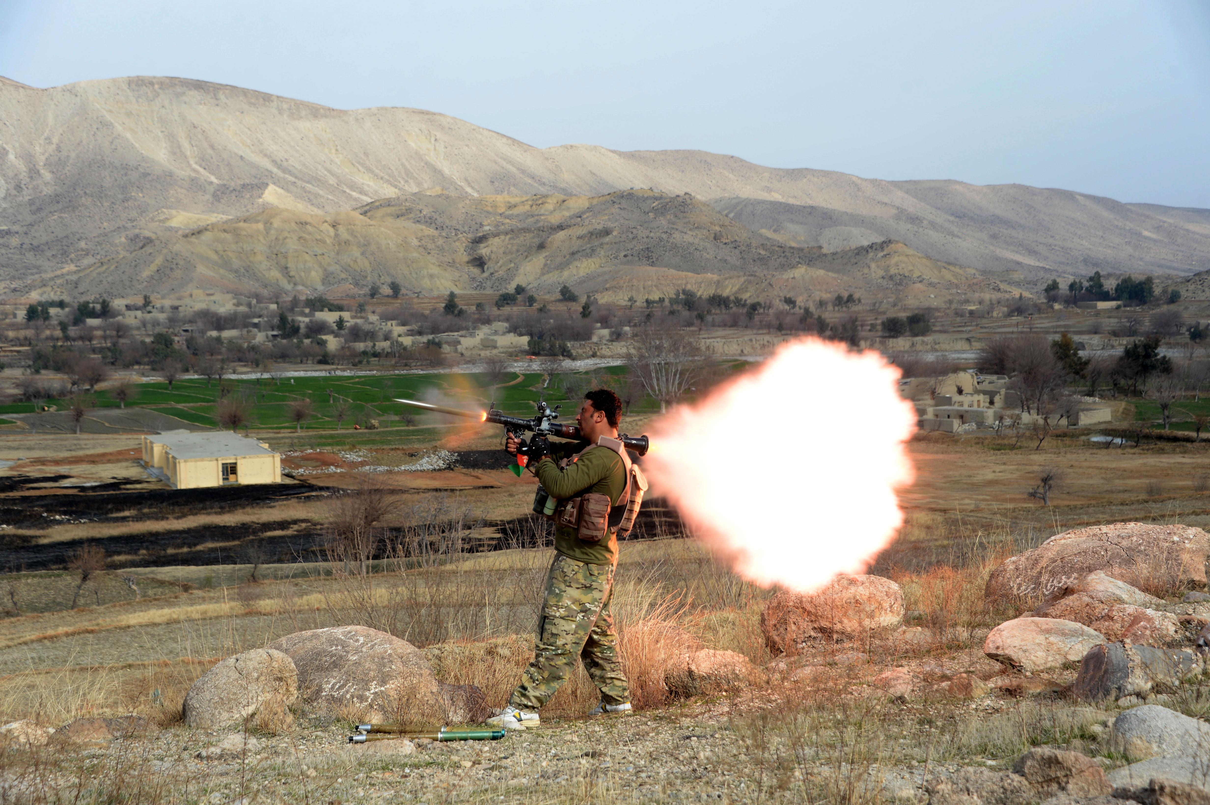 شدت یافتن عملیات های ضد ستیزه جویی توسط قوای نظامی افغانستان