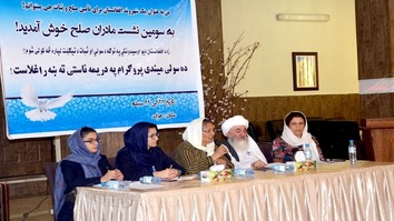 Afghan women embrace greater role in peace process