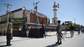 Afghan civilians take up arms to protect mosques during Muharram