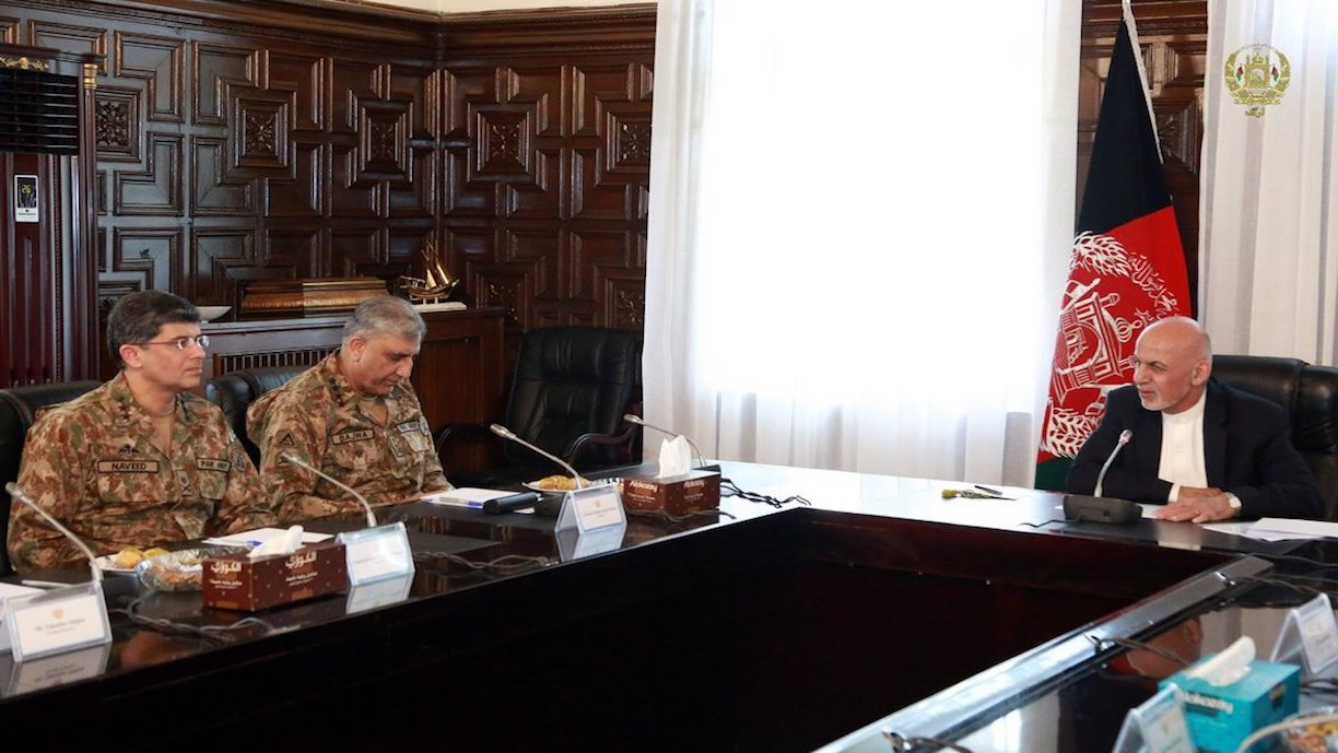 Pakistani army chief, Afghan president boost bilateral co-operation