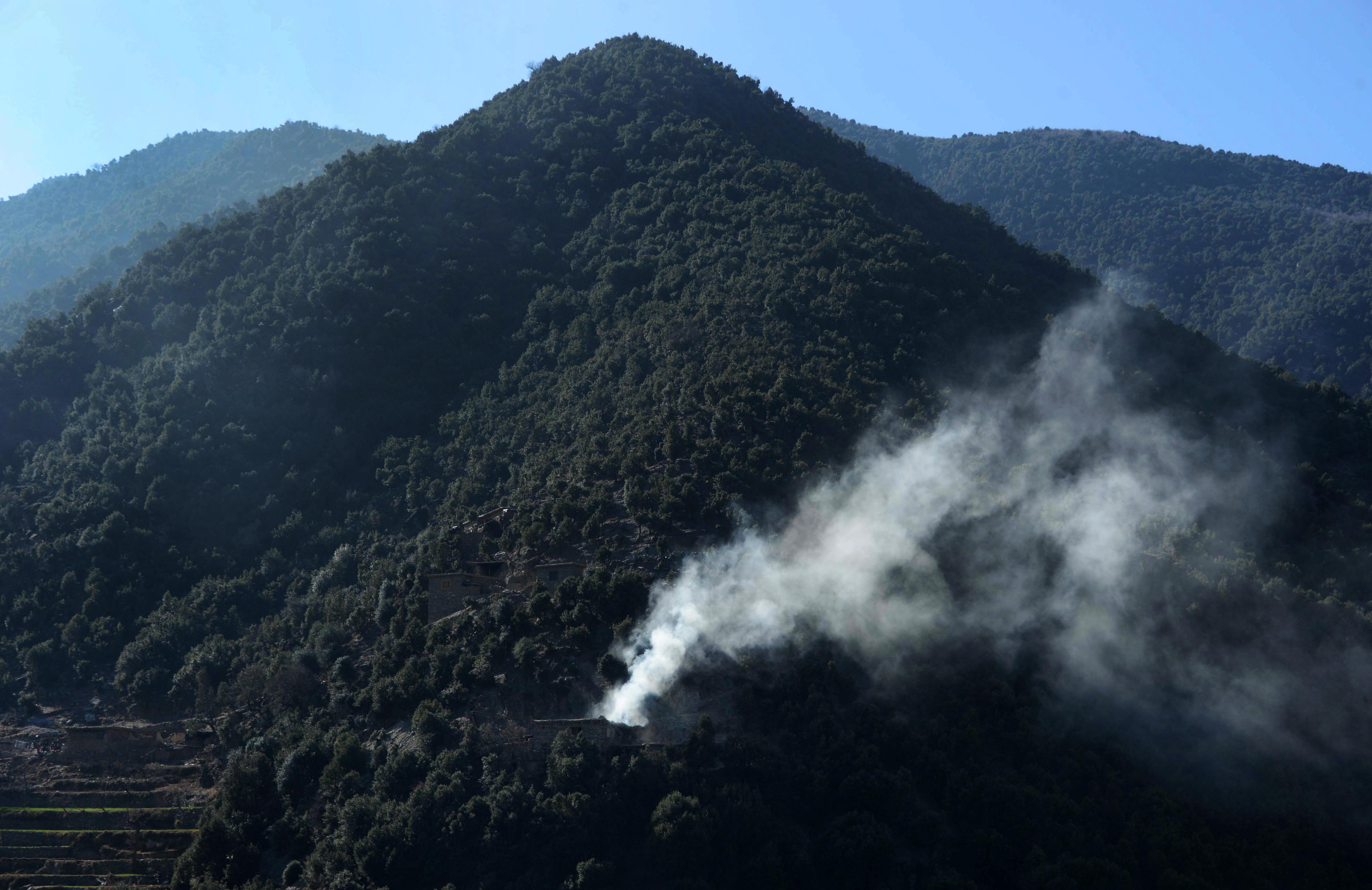Illegal logging, mining help bankroll militants in Kunar Province
