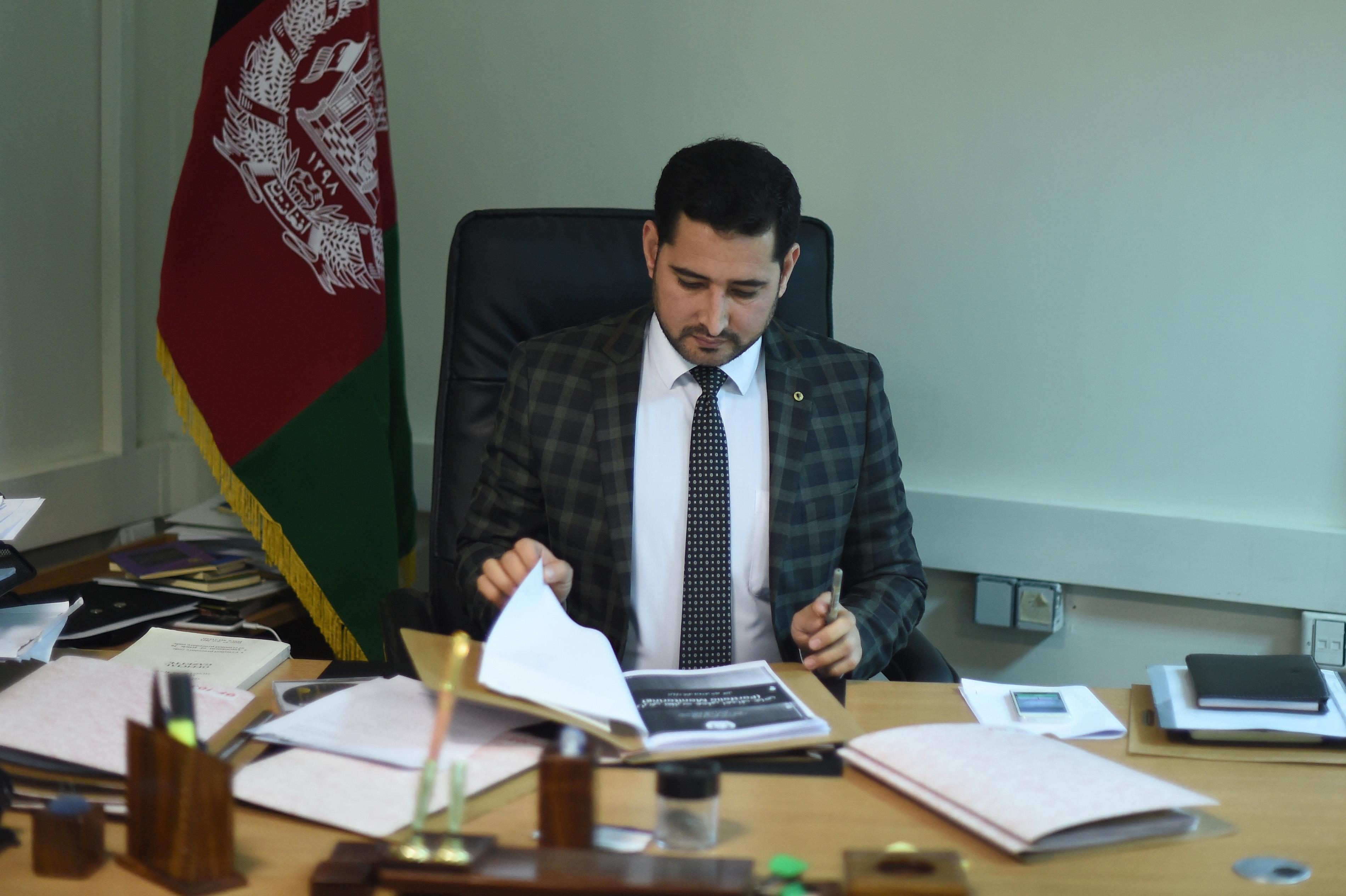 موفقیت در مبارزه با فساد اداری در افغانستان