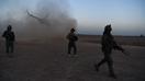 نیرو های ایالات متحده و افغان مبارزهء مشترک را بر ضد «ستیزه جویی افیونی» طالبان آغاز کردند