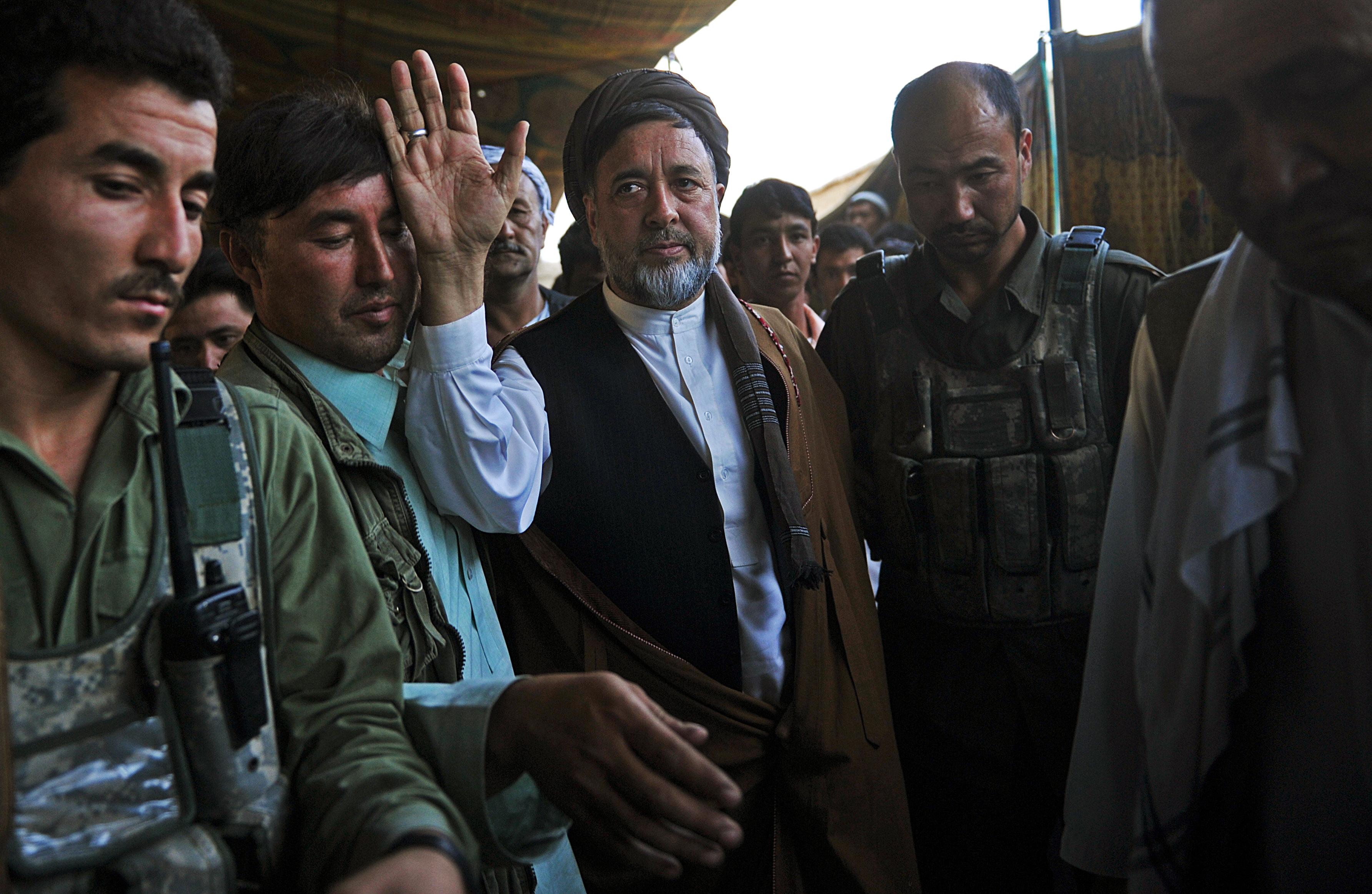 Mohaqiq draws fire for praising Iran's recruitment of Afghans in Syrian war
