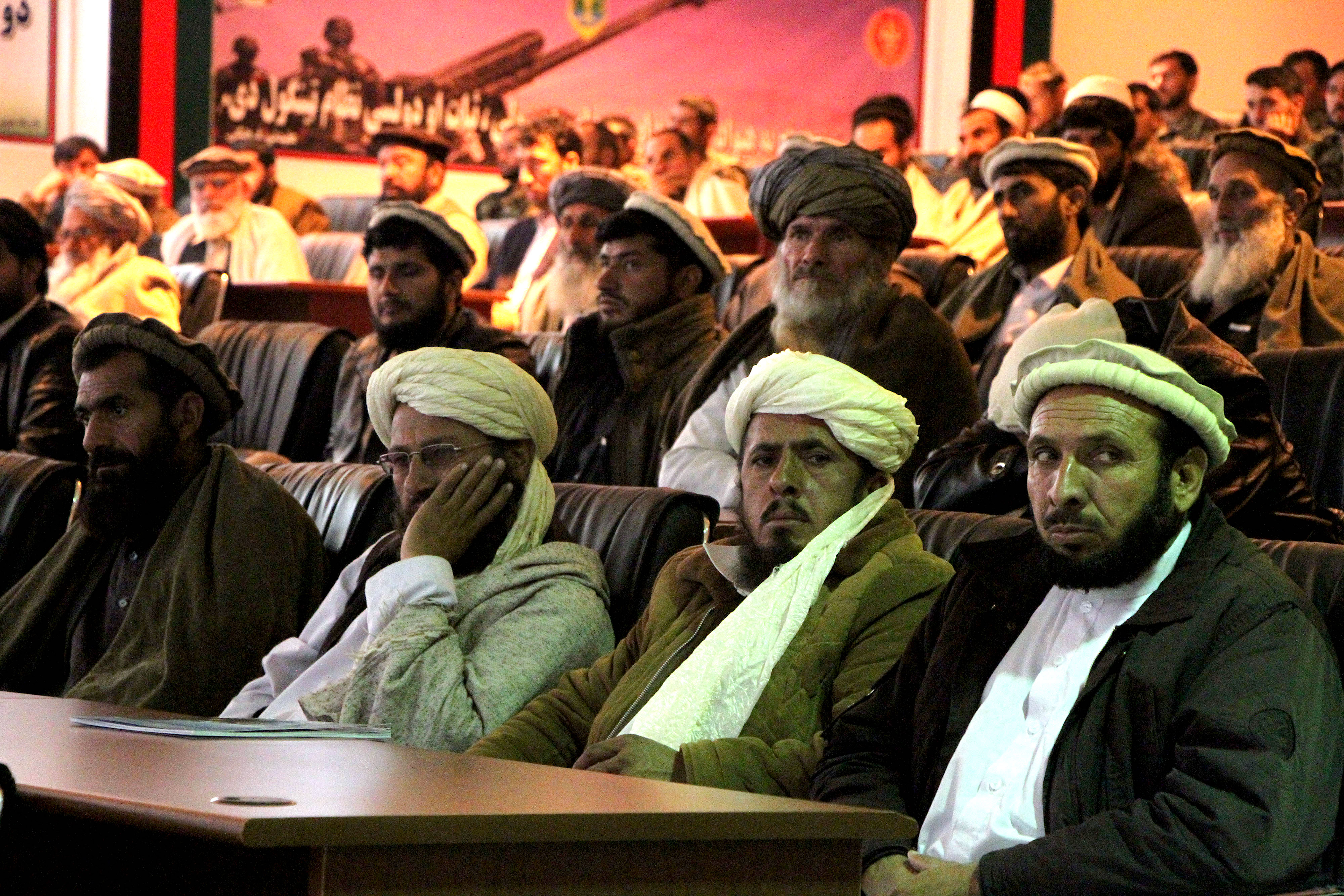 Tribal elders, clerics renew support for Afghan security forces