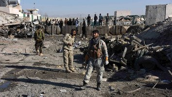 Taliban suicide attack hits district police HQ in Kandahar