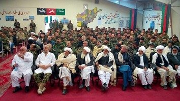 Tribal elders in Kandahar, Herat renew support for security forces