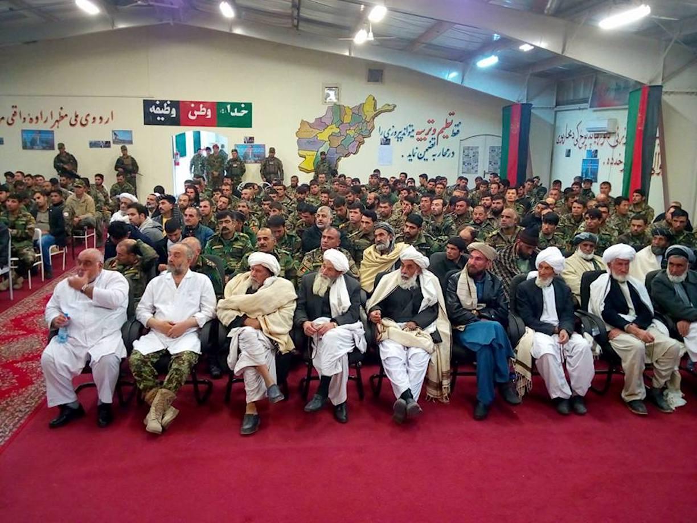 تجدید حمایت بزرگان قومی در قندهار و هرات از نیروهای امنیتی