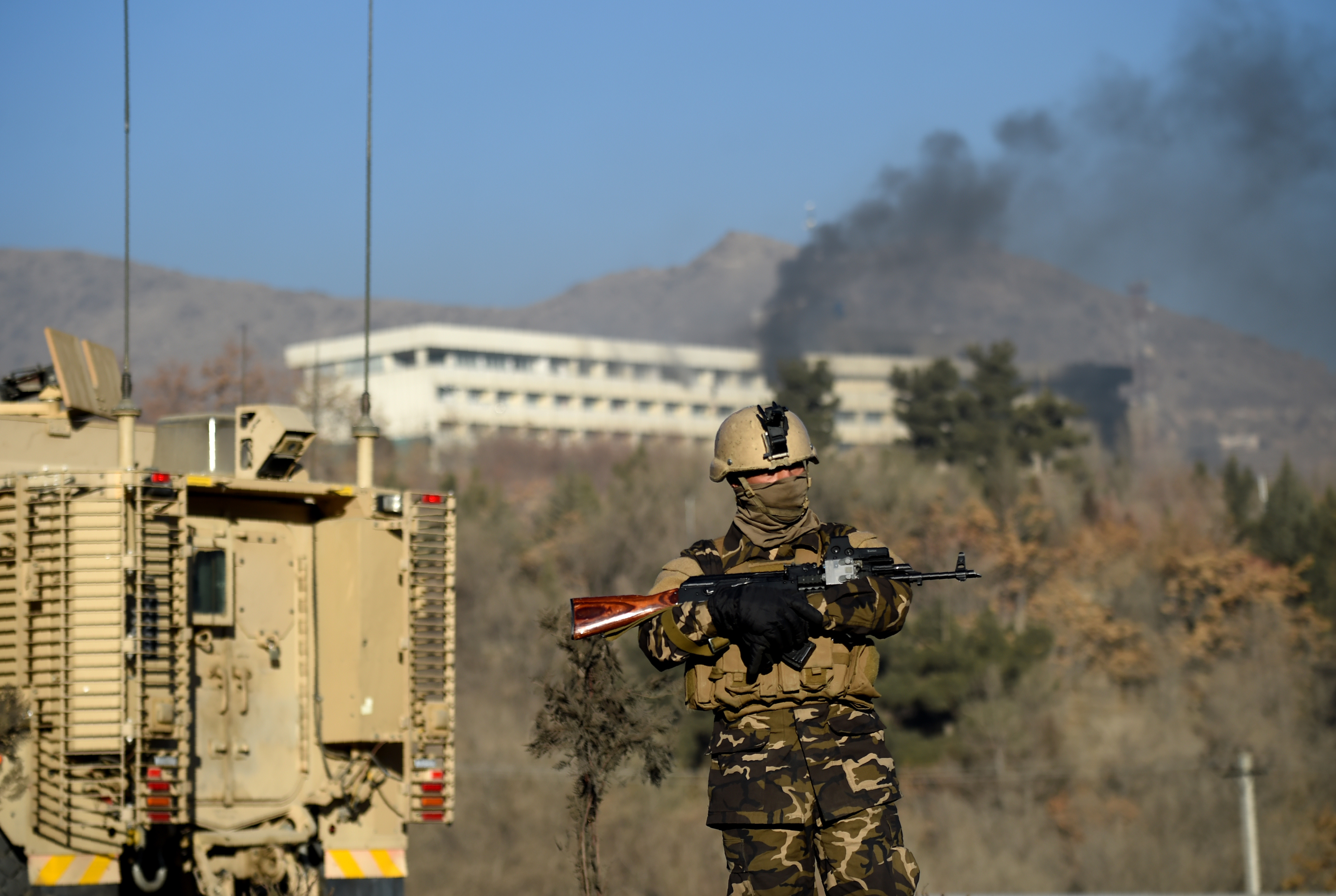 Taliban deemed 'enemy of humanity' following Kabul hotel rampage