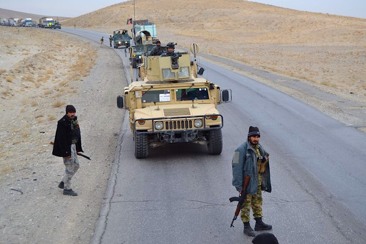 Afghan security forces keep Taliban at bay on Ghazni roads