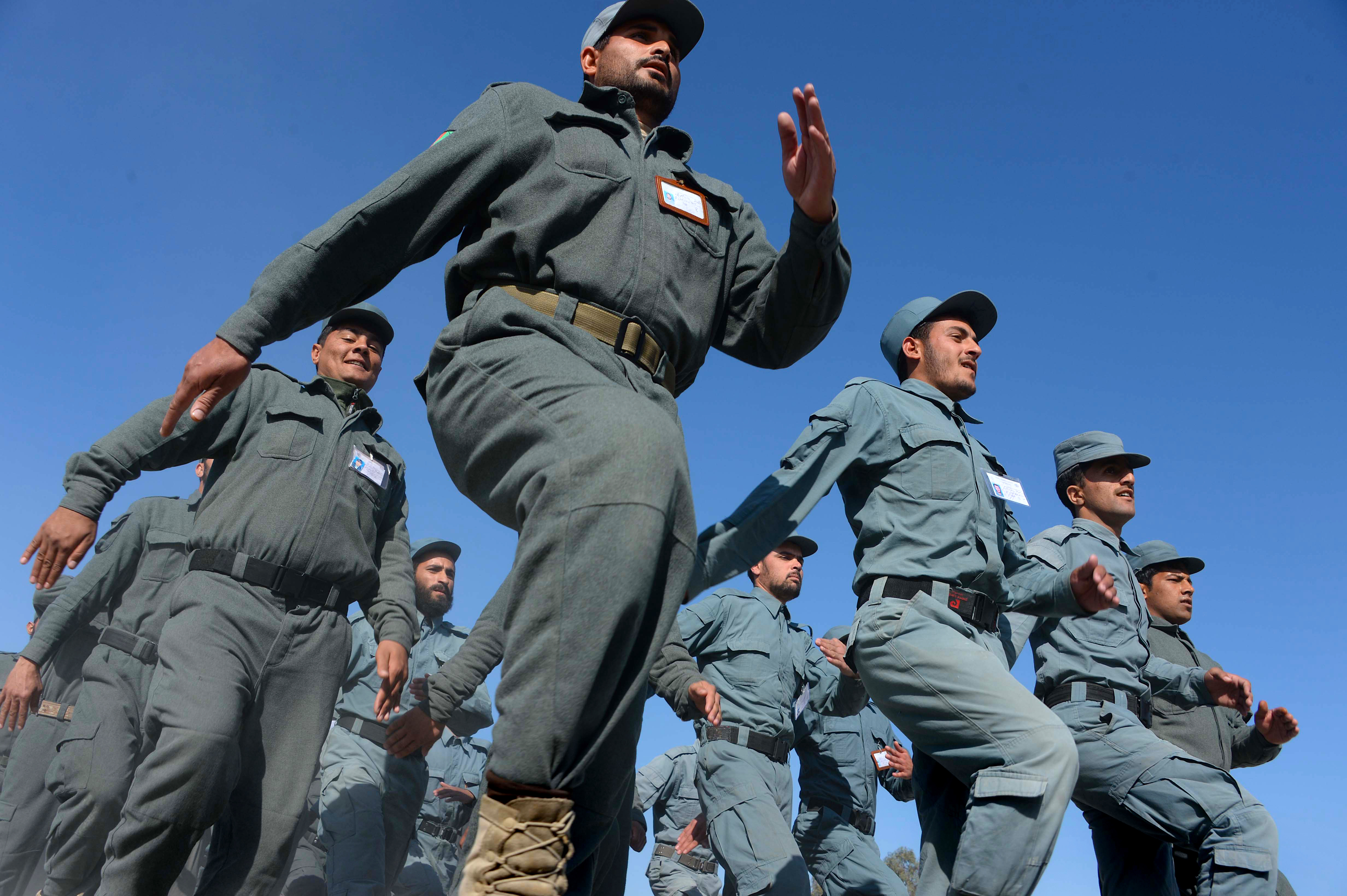 Afghanistan moves to build police capacity, combat corruption