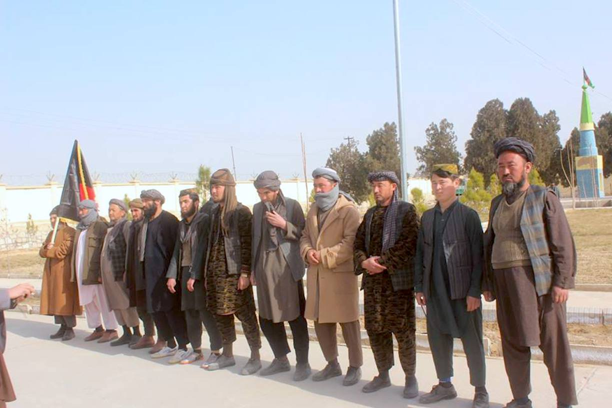 ISIS members quit fight against government, join peace process in Jawzjan