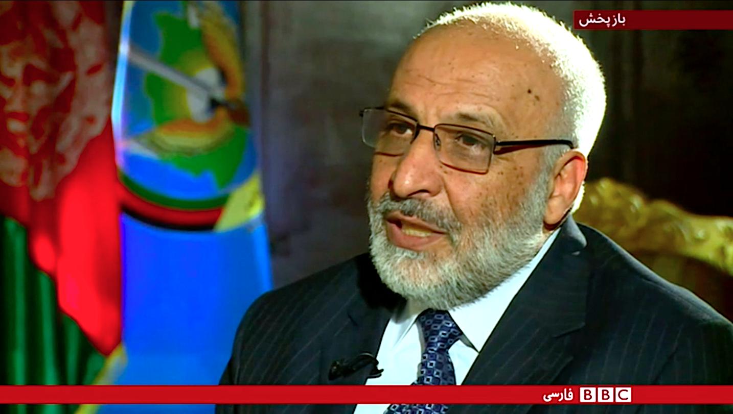 رئیس استخبارات افغانستان می گوید که روسیه و ایران طالبان را کمک می کنند