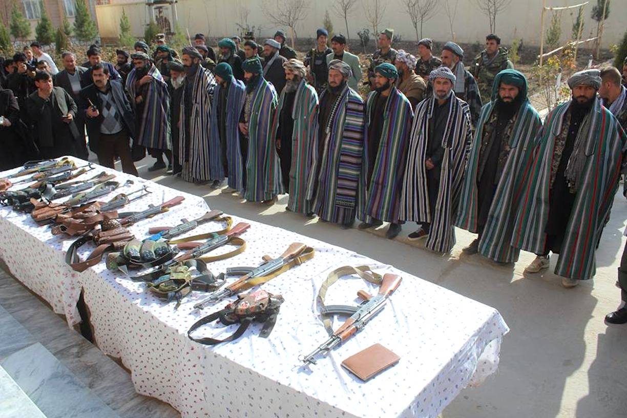 Taliban militants join peace process in Sar-e-Pul, regret past violence