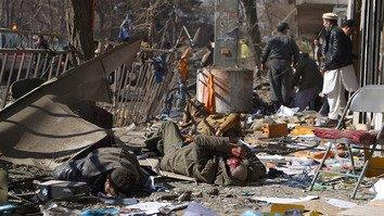 رقم بی سابقه مرگ مردم ملکی در افغانستان در سال ۲۰۱۷ در اثر حملات تروریستی