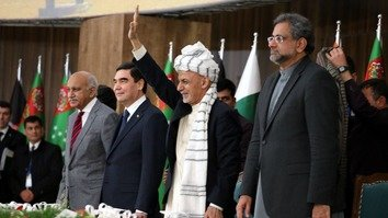 Regional officials break ground on Afghan section of TAPI pipeline