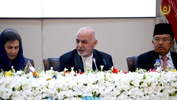 Ghani unveils plan for peace talks with Taliban