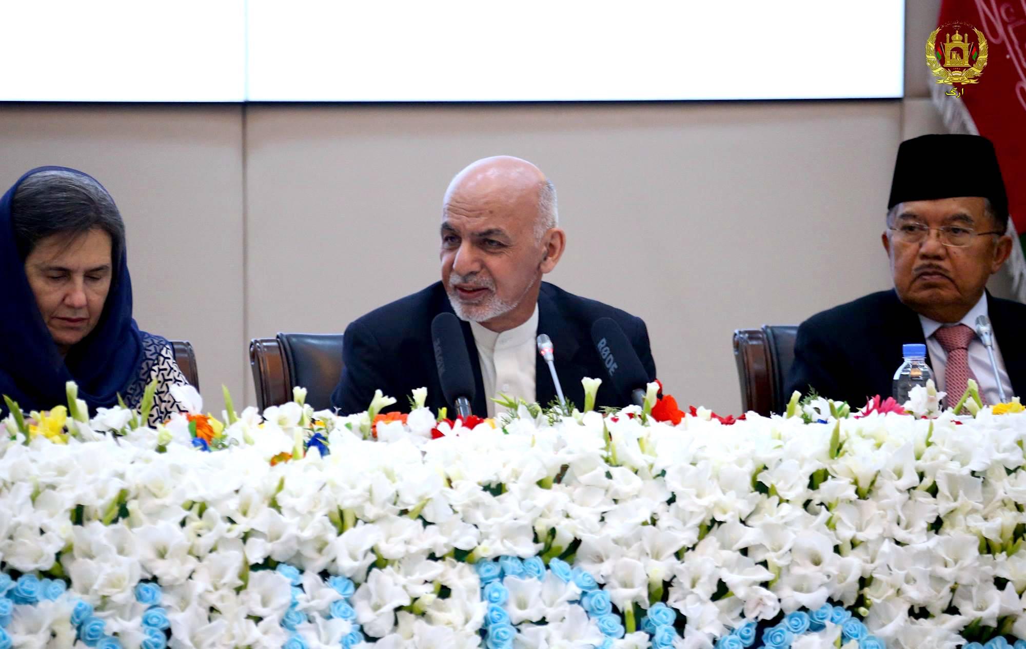 رییس جمهور غنی پلان مذاکرات صلح با طالبان را اعلان کرد