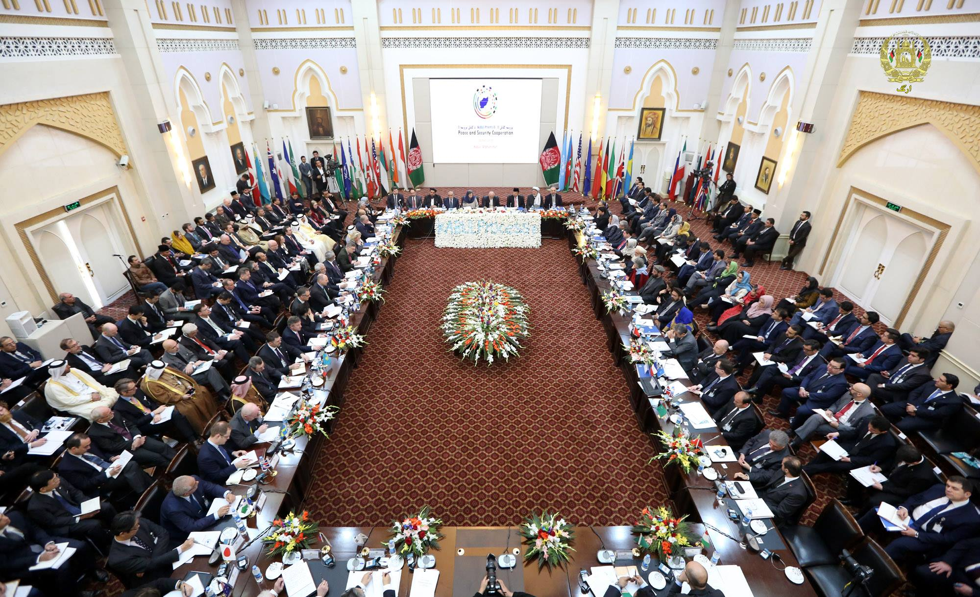 International community welcomes Afghan plan for peace with Taliban