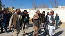 افتتاح پروژه های انکشافی توسط مسؤولین در اروزگان بعد از بیرون راندن طالبان