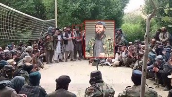 Qari Hikmatullah, a top ISIS leader in Afghanistan killed in an air strike last week, is shown in a picture dated April 5. His death was 'a big blow' to ISIS in the north, say Afghan and coalition officials. [Courtesy of NATO]