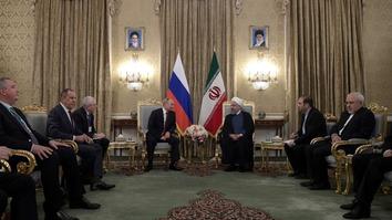 ائتلاف فزاینده روسیه و ایران موجب بروز تنش های فرقه ای در سراسر جهان اسلام شده است