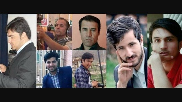At least nine journalists were killed and six badly injured April 30 while covering a suicide blast in Kabul claimed by ISIS. [Reporters Without Borders]