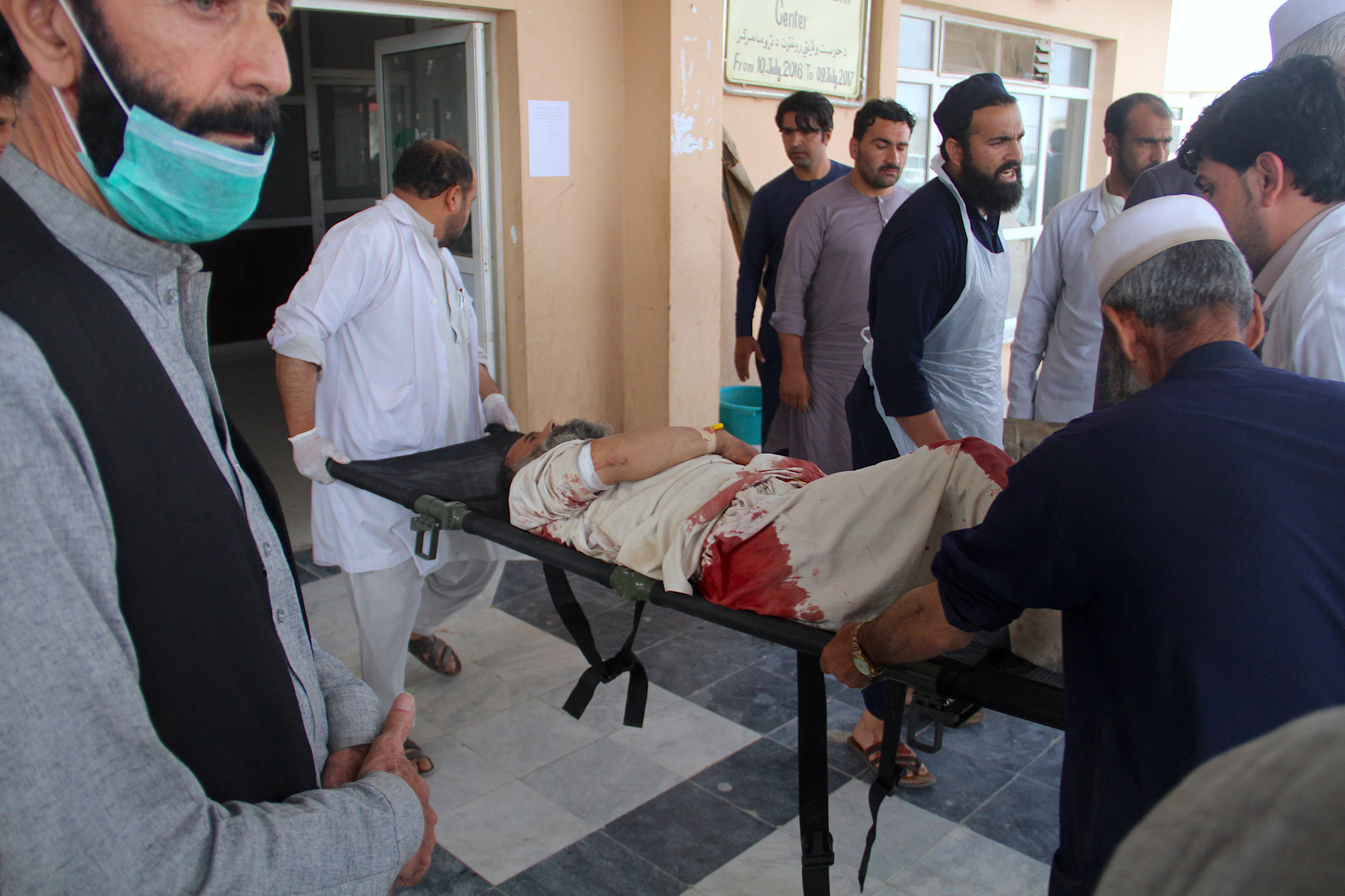 Afghans continue voter registration following deadly Khost bombing