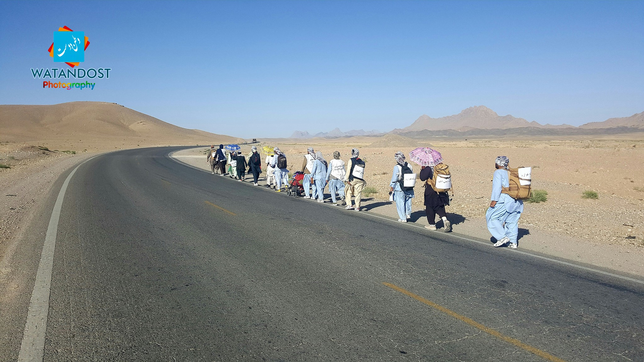 People's Peace Movement takes message to the road -- walking from Helmand to Kabul