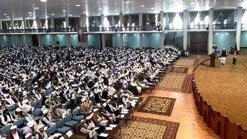 حمله یک بم گذار به علمای افغان که بم گذاری انتحاری را 'حرام' خواندند