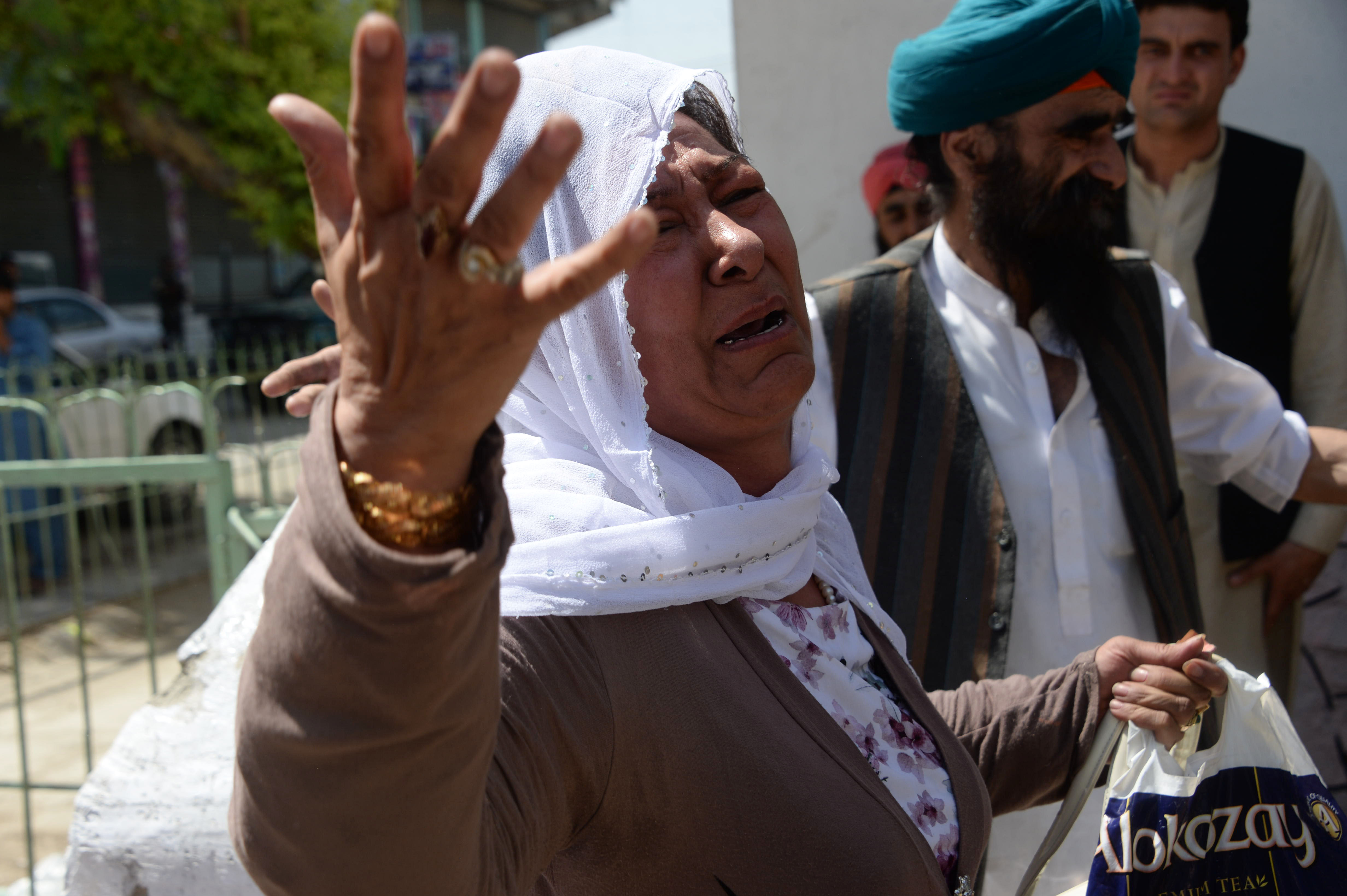 Grief and anger follow ISIS attack on Afghan Sikhs, Hindus